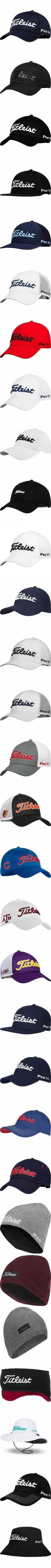7bf268d969d Titleist Nantucket Collection Adjustable Golf Hats