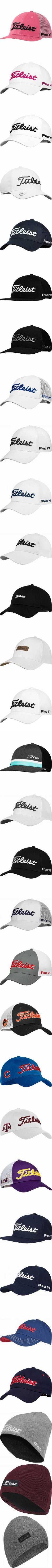 cfaec416de2f7 Titleist Tour Ace Adjustable Golf Hats