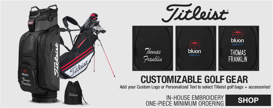Titleist Customizable Cart Bags at Golf Locker
