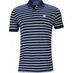 G/Fore Perforated Wide Stripe Golf Shirts - ON SALE