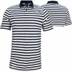Oakley Bicolor Striped Golf Shirts