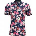 G/Fore Floral Golf Shirts