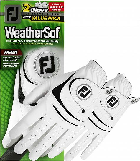 FootJoy Prior Generation WeatherSof 2-Pack Golf Gloves - ON SALE