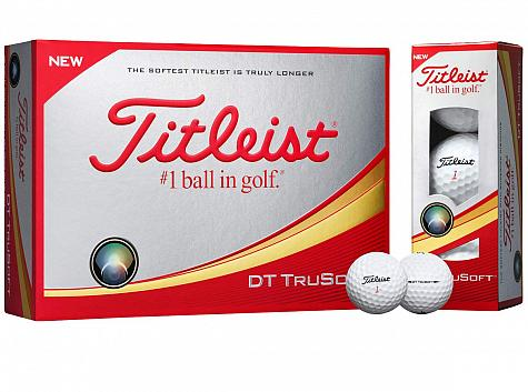 Titleist Prior Generation DT TruSoft Golf Balls - ON SALE