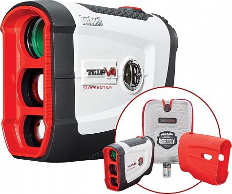 Bushnell Tour V4 Shift JOLT Golf Rangefinder Patriot Packs