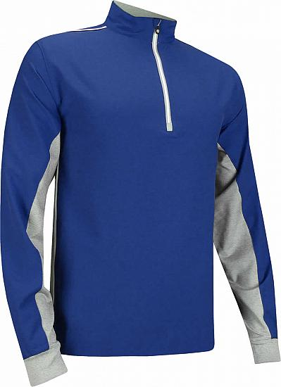 FootJoy Wind Shell Quarter-Zip Golf Pullovers - FJ Tour Logo Available