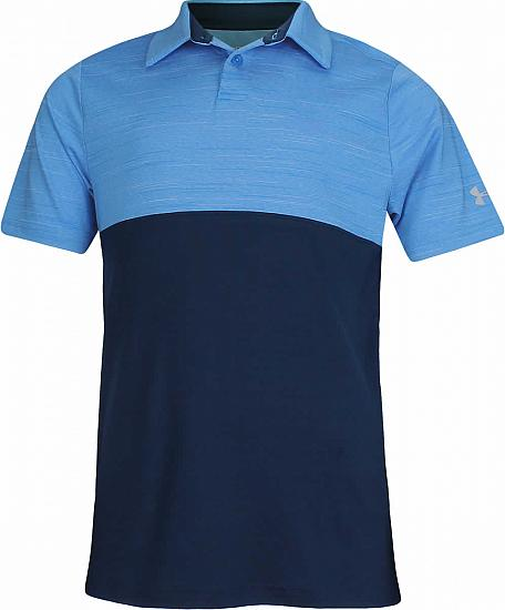 Under Armour Blocked Junior Golf Shirts - ON SALE - RACK