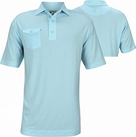 FootJoy ProDry Performance Spun Poly Pocket Golf Shirts - Athletic Fit - FJ Tour Logo Available - Previous Season Style