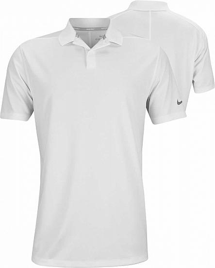 Nike Dri-FIT Victory Left Sleeve Logo Golf Shirts - Previous Season Style
