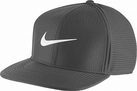 Nike Aerobill Pro Flat Bill Snapback Adjustable Golf Hats - ON SALE