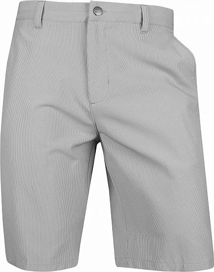 Adidas Ultimate 365 Twill Pinstripe Golf Shorts - ON SALE