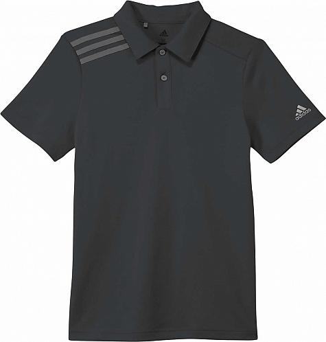 Adidas 3-Stripes Junior Golf Shirts