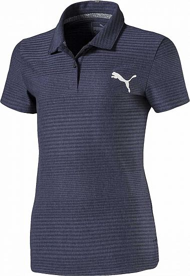 Puma Girl's DryCELL Pounce Aston Junior Golf Shirts - ON SALE