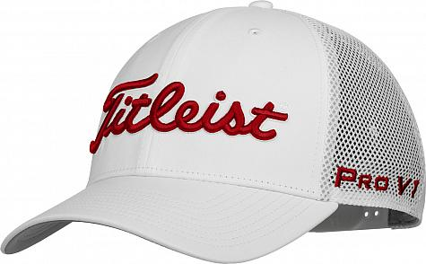 Titleist Tour Snapback Mesh Adjustable Golf Hats - ON SALE