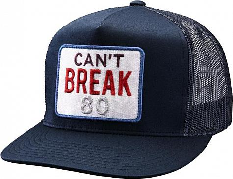 G/Fore Can't Break 80 Adjustable Snapback Trucker Golf Hats