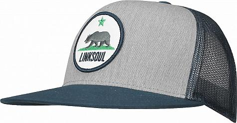 Linksoul California Trucker Snapback Adjustable Golf Hats