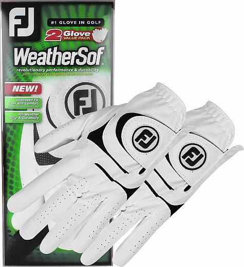 FootJoy WeatherSof 2-Pack Golf Gloves - ON SALE
