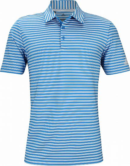 Adidas Ultimate 2-Color Stripe Golf Shirts - ON SALE