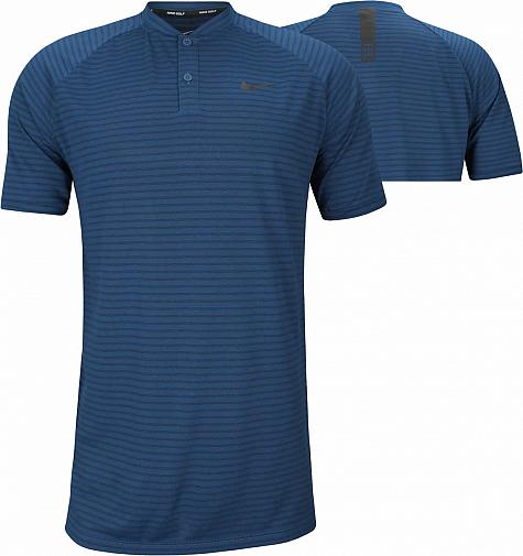 Nike Dri-FIT Tiger Woods Zonal Cooling Blade Collar Golf Shirts - ON SALE