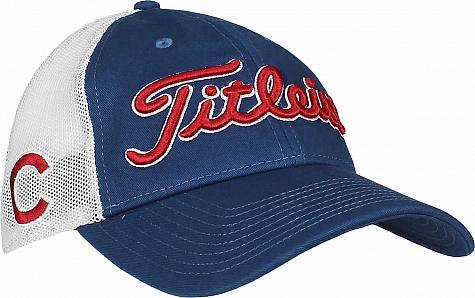 Titleist Major League Baseball Mesh Snapback Adjustable Golf Hats - ON SALE