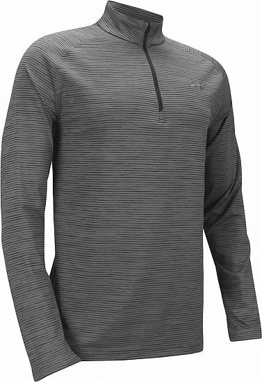 Under Armour Playoff Quarter-Zip Stripe Golf Pullovers - ON SALE
