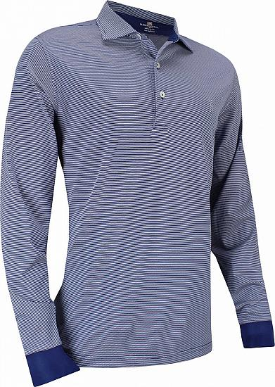 Fairway & Greene USA McHugh Pique Long Sleeve Golf Shirts