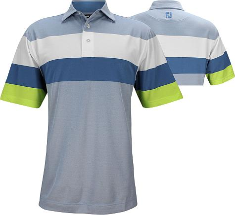FootJoy ProDry Engineered Birdseye Pique Golf Shirts - FJ Tour Logo Available - Previous Season Style