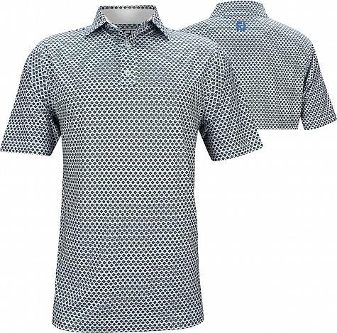 FootJoy ProDry Lisle Foulard Print Golf Shirts - Athletic Fit - Hyannis Port Collection - FJ Tour Logo Available - Previous Season Style
