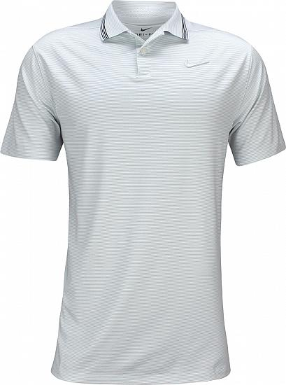 Nike Dri-FIT Vapor Control Golf Shirts - Pure Platinum