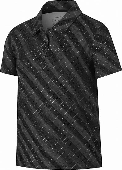 Nike Girl's Dri-FIT UV Printed Junior Golf Shirts
