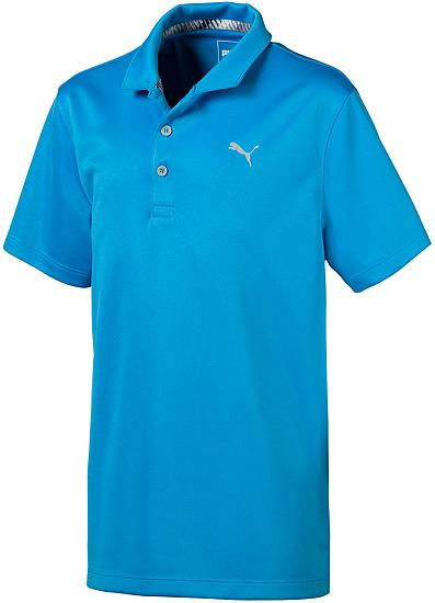 Puma Essential Junior Golf Shirts - ON SALE