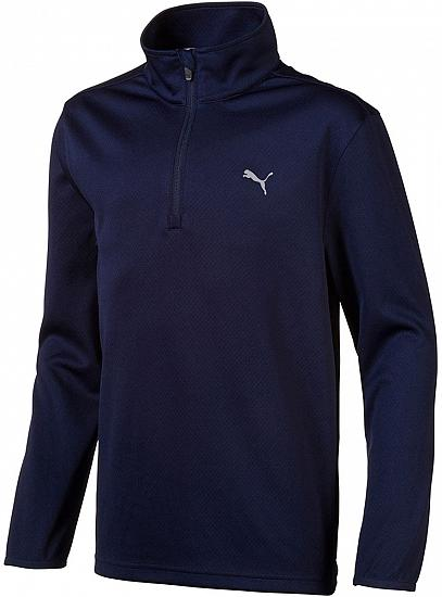 Puma Junior Quarter-Zip Golf Pullovers