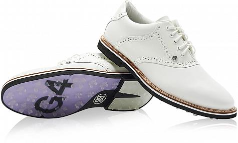 G/Fore Patent Leather Saddle Gallivanter Spikeless Golf Shoes