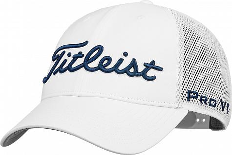 Titleist Tour Performance Mesh Snapback Adjustable Golf Hats - ON SALE