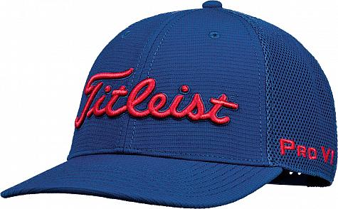 Titleist Tour Snapback Mesh Collection Adjustable Golf Hats
