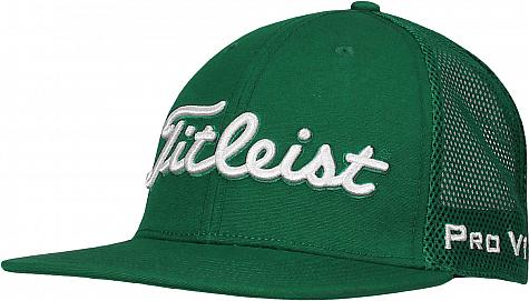 Titleist Flat Bill Mesh Snapback Adjustable Junior Golf Hats