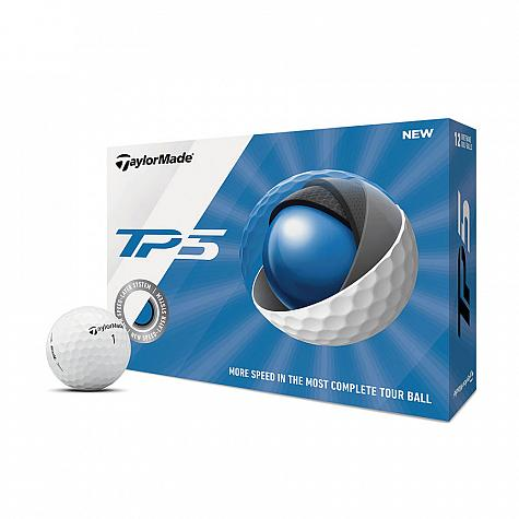 TaylorMade TP5 Personalized Golf Balls - Buy 3, Get 1 Free