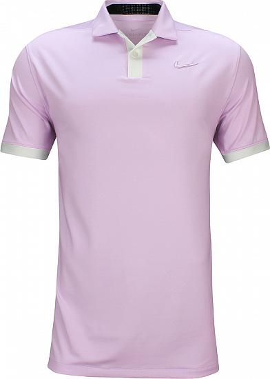 Nike Dri-FIT Vapor Golf Shirts - Lilac Mist - Brooks Koepka First Major