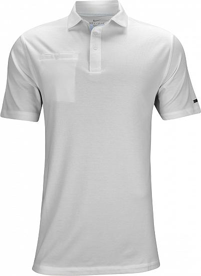 Nike Dri-FIT Player Golf Shirts - White - Rory McIlroy PGA Championship Saturday