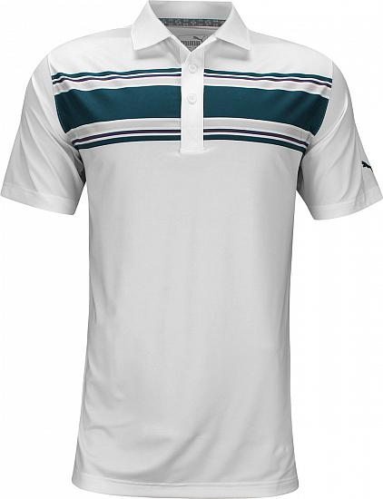 Puma DryCELL Montauk Golf Shirts - Gibraltar Sea Blue - ON SALE
