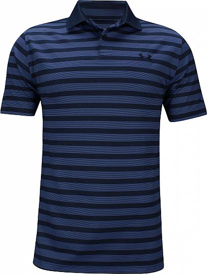 Under Armour Performance Impact Stripe Golf Shirts - ON SALE