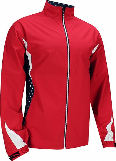 FootJoy HydroLite Golf Rain Jackets - Limited Edition Stars & Stripes Collection - FJ Tour Logo Available