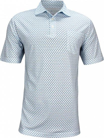 Peter Millar Seaside Blue Shell Golf Shirts