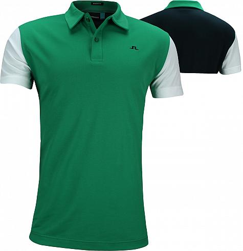 J.Lindeberg Bob Reg Fit Cotton Poly Golf Shirts