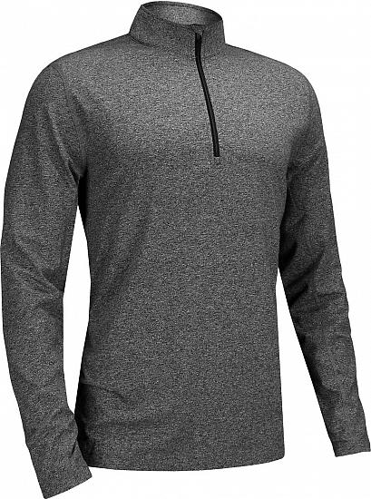 Dunning Embo Quarter-Zip Golf Pullovers