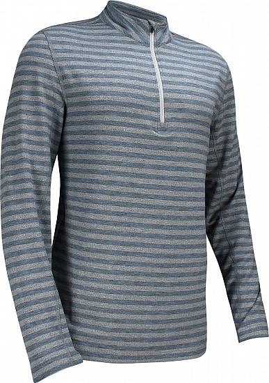 Dunning Ardmair Quarter-Zip Golf Pullovers - Trent Heather