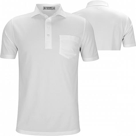 G/Fore Core Solid Pique Golf Shirts