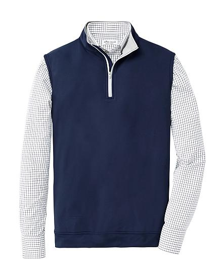 Peter Millar Galway Stretch Terry Quarter-Zip Golf Vests
