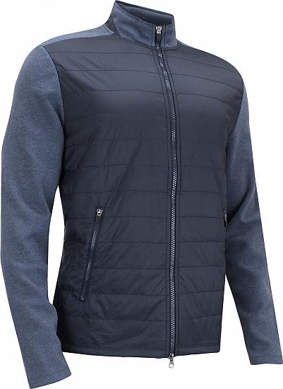 johnnie-o Calvin Polar Quilted Full-Zip Golf Jackets