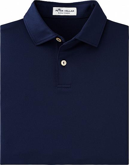 Peter Millar Solid Stretch Jersey Junior Golf Shirts